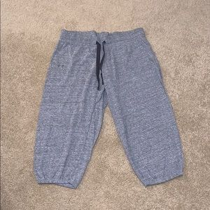 """Gray Cropped Under Armour Sweatpants 20"""""""